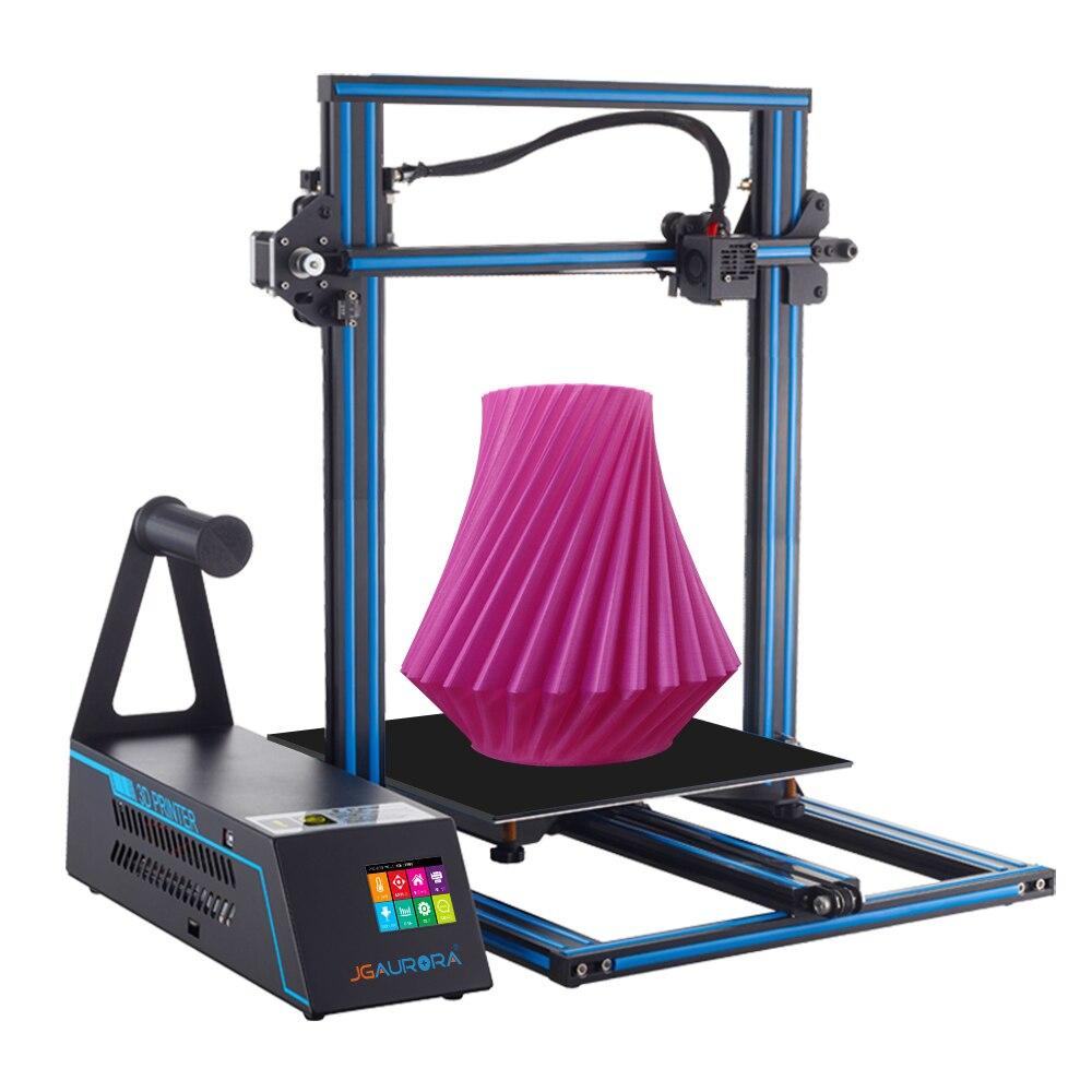 2018 New JGAURORA A5X 3D Printer Kit Printing 10-150mm/S DIY Printer With LCD Screen Support USB SD Card U Disk original jgaurora a5 updated mini 3d printer 305 305 320mm diy w 305 305 320mm printing area printing machine support sd card
