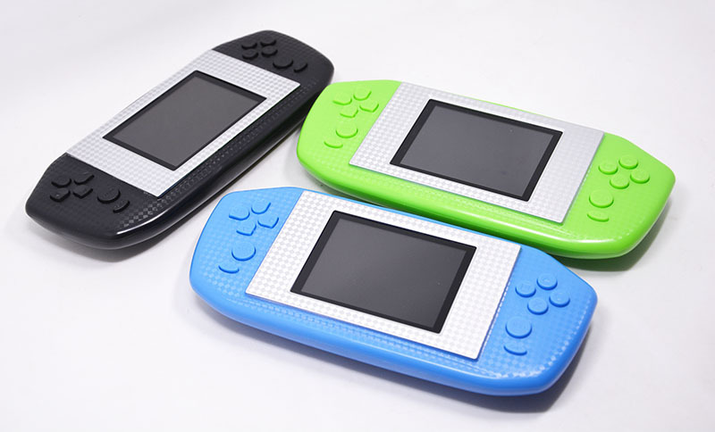Portable Spielkonsolen Trendmarkierung 3 Zoll Wiederaufladbare Tragbare Handheld-game-spieler Spielkonsole Für Nes Spiele Mit 190 Klassische Spiele Geschenk Für Kinder Videospiele