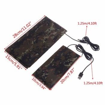 Pet USB Heat Mat Reptile Carbon Fiber Warmer Constant Temperature Waterproof Bed(Power 5W/7W) 1