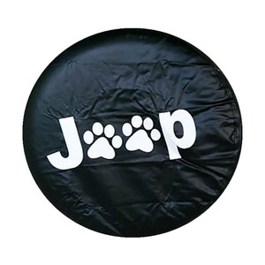 Image 5 - 14 17inch Tire Cover PVC Spare Tire Cover Fit For Jeep Wrangler JK Sports Sahara Rubicon X Unlimited 2/4 DR Accessories