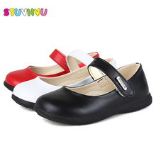 Girls leather princess shoes 2019 spring autumn children's s