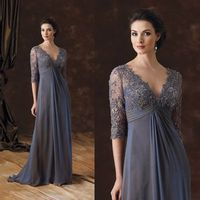 Lace Applique Plus Size Mother Of The Bride Dresses