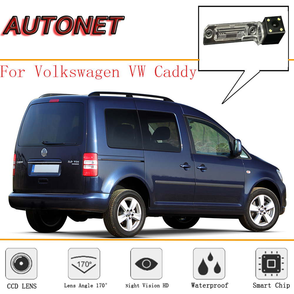AUTONET Rear View Camera For Volkswagen VW Caddy/Van/Rabbit Pickup MK3/For SEAT Inca/Reverse Camera/license Plate Camera
