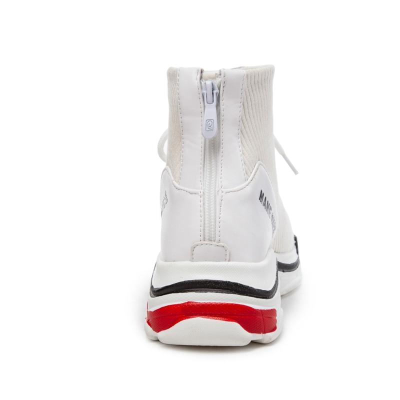 Cortas blanco Cálido Botas Zapatos Qzyerai Otoño Libre Moda De Mujeres Caliente Negro Aire Nueva Invierno Tobillo Al Las qfqTw1x4zW