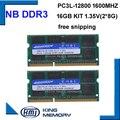 Оперативная память KEMBONA sodimm для ноутбука  ОЗУ DDR3L 16 Гб (комплект из 2 предметов ddr3 8 ГБ)  1 35 в PC3L 12800S  низкая мощность  204pin оперативная память