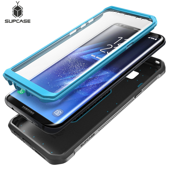 new arrival 6f168 1a733 US $16.37 22% OFF|SUPCASE Cover For Samsung Galaxy S8 5.8 inch WITH Built  in Screen Protector Unicorn Beetle UB Pro Full Body Rugged Holster Case-in  ...