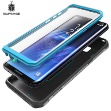SUPCASE สำหรับ Samsung Galaxy S8 5.8 นิ้วป้องกันหน้าจอในตัวยูนิคอร์นด้วง UB Pro เต็มรูปแบบกรณี Holster