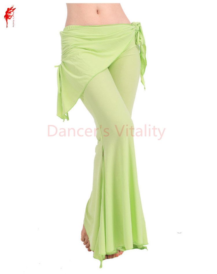 11 Colors Wholesale Women Belly Dance Practice Trousers Girls Belly Dance Pants Lady Dance Clothes