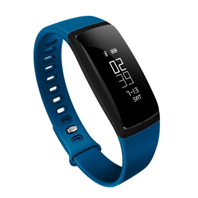 2017 Interpad Smart Band V07 Blood Pressure Smart Bracelet Wristband with Heart Rate Monitor Smartband For Android IOS Phone