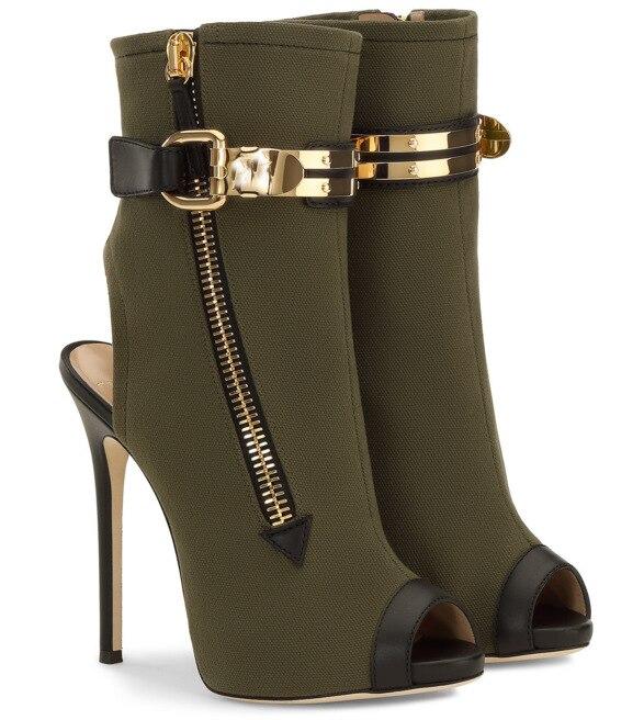 As Latérale Picture Luxe Zapatos Hauts Peep Glissière De Bottines Toe Mujer 35 Femmes Designer Chaussures Mode 43 Talons vvprax