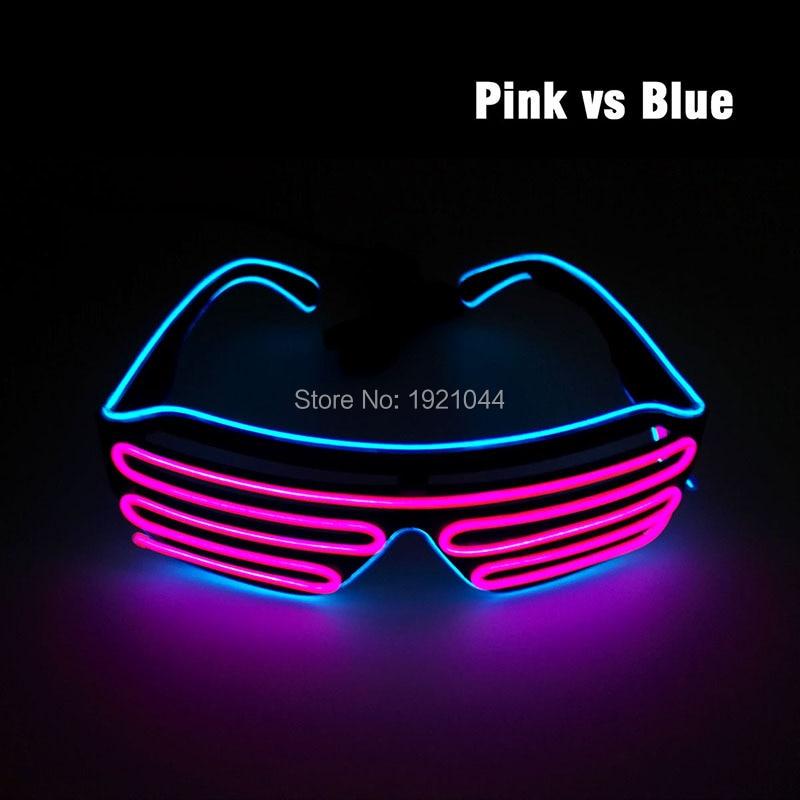 Двойные цвета EL провода LED неоновые - Товары для праздников и вечеринок