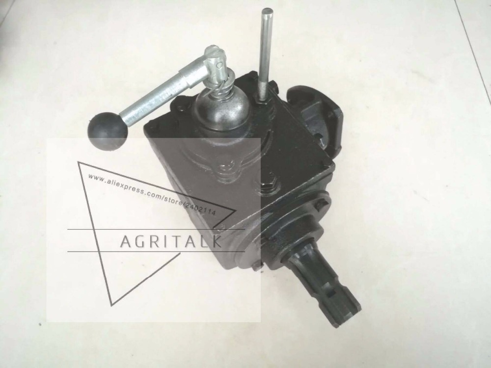 Side power take-off transfer for taishan small sized tractor, Power Retraction Gearbox on a Taishan-12 type belt drive taishan tractor parts taishan fd495 the set of bearing with thrust rings standard size 0 00 model