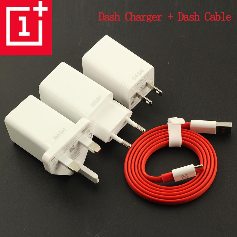 Original ONEPLUS 3 3T 5 5T 6T 6 Dash Charger,5V 4A USB Quick Charge Adapter + 100CM/150CM Noodle Dash Cable EU/US/UK Plug