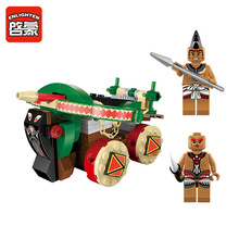 Enlighten 1304 Latest Pirates Series Tau Crossbows Building Blocks Assembly Toy Christmas Gift