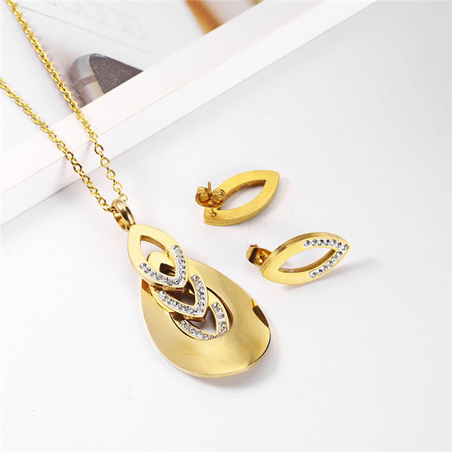 OUFEI Necklace Stainless...