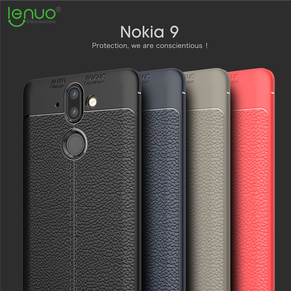 Lenuo explosion-proof TPU case for Nokia 8 Sirocco soft mobile phone cover for Nokia 8 Sirocco Dermatoglyph silicone shell cases
