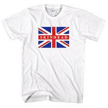 Skinhead Union Jack T Shirt Homens Mulheres Crianças Inglaterra Isso é  Fantasia Vestido MOD L262Cool orgulho t camisa homens Cas. e18e4110985c9