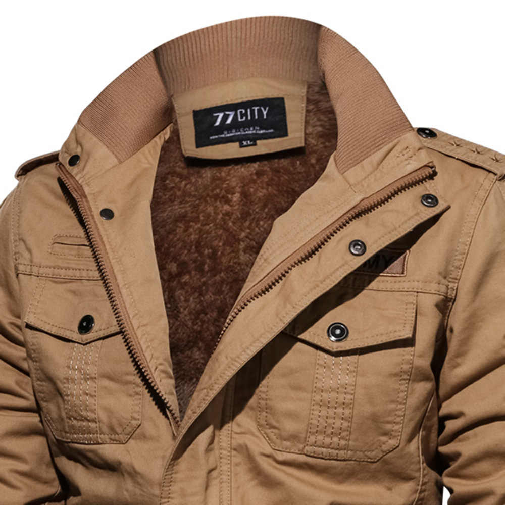 2019 más el tamaño de los hombres del ejército verde chaqueta de manga larga del soporte del Collar militar Casual hombres negro gótico chaqueta de moda