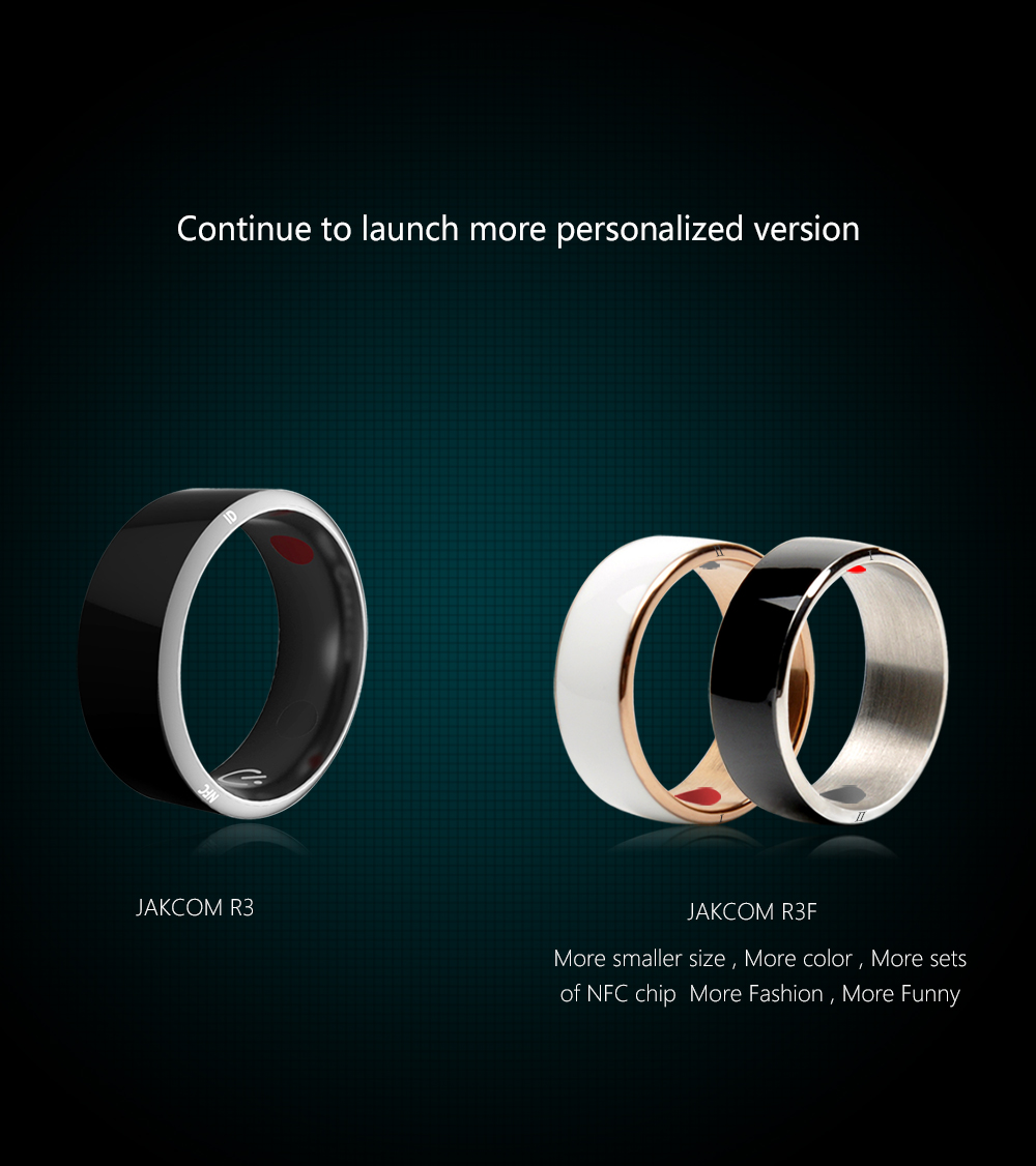 Jakcom Smart Ring R3 Hot Sale In Smart Gadgets Accessories New Technology for Android Windows NFC Mobile Phone mens jewellry 17