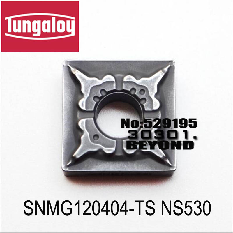 SNMG120404 TS NS530 SNMG120408 TS NS530 original tungaloy carbide insert turning tool holder boring bar cnc
