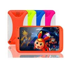 Детский планшет, 7 дюймов, android 5,1, планшетный ПК, 8G, четырехъядерный, WiFi, Bluetooth, 1024*600, ips экран, мультяшный, лучший подарок для детей