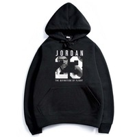 2017 Brand New Fashion JORDAN 23 Men Sportswear Print Men Hoodies Pullover Hip Hop Mens Tracksuit