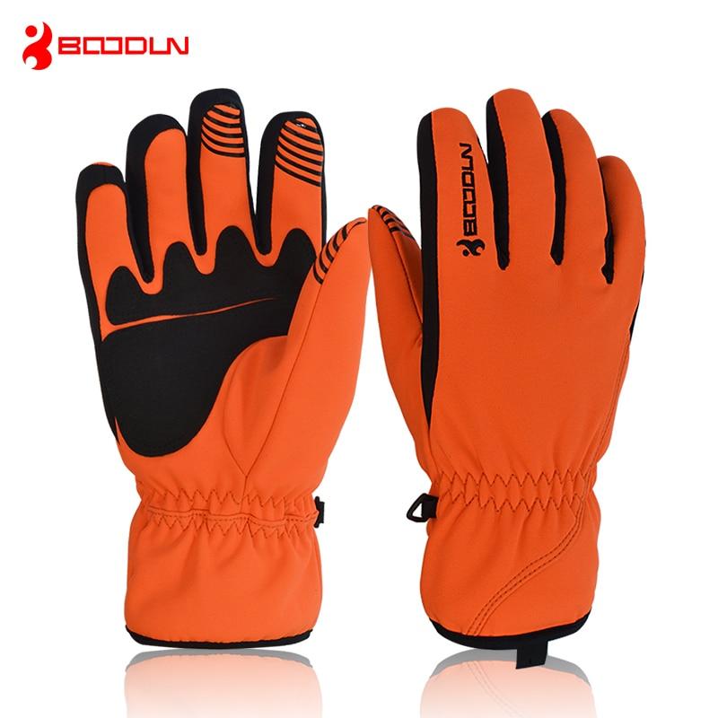 Ski Gloves Men Women Windproof Waterproof Warm Cycling Ski Snow Snowmobile Motorcycle Snowboard Skiing Gloves Winter Outdoor