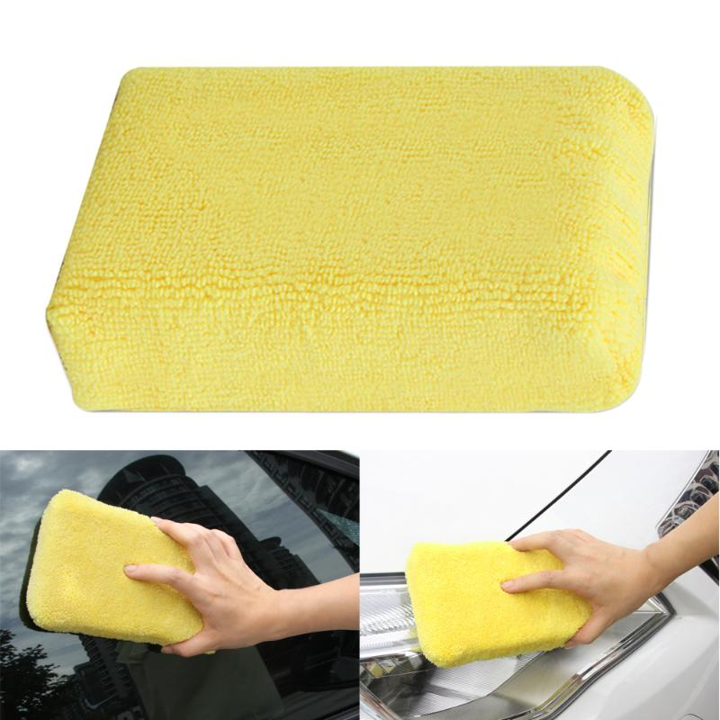 1Pcs Car Wash Sponge Auto Washing Cleaning Sponge Superfine Fiber Cleaning Cloth Car Detailing Clean Clay Care Tools Car Styling