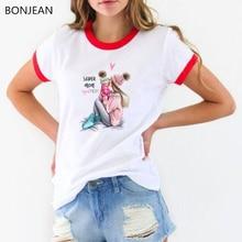 Fashion Super mom tshirt women baby printed graphic t shirts 90s harajuku shirt summer top female t-shirt drop shipping