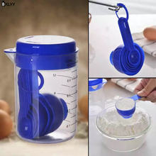 Мерная чашка bxlyy500ml + 6 мерных ложек мерная ложка набор