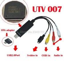 Easycap USB Video Capture Adapter TV DVD VHS Captura for Computer TV font b Camera b