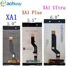 """עבור 5.0 """"Sony XA1 בתוספת LCD תצוגת מסך מגע xa1 ultra lcd תצוגה עבור sony xa1 lcd חדש עבור SONY Xperia XA1 Ultra LCD תצוגה"""