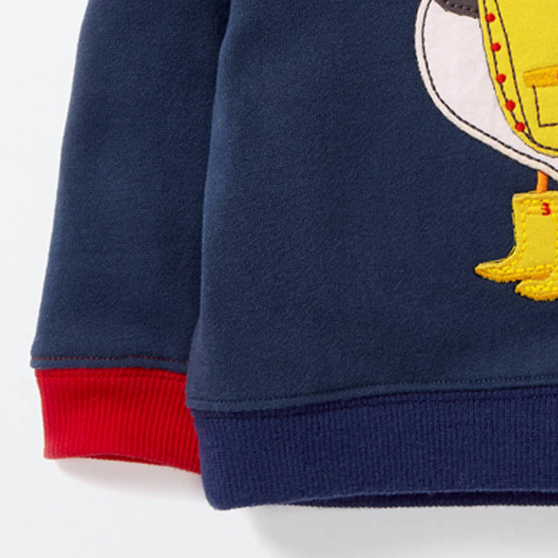 Cotton Boys T Shirt Boys Tops 2018 Spring Autumn Boys Cartoon Bird Outwear Baby Children Clothing kids jacket