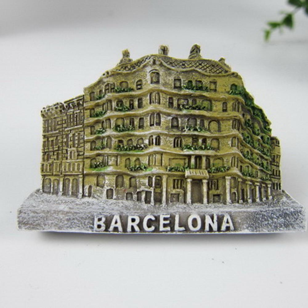 a casa mila de barcelona espanha im lembranas tursticas adesivos magnticos decorao de casa decorao criativa