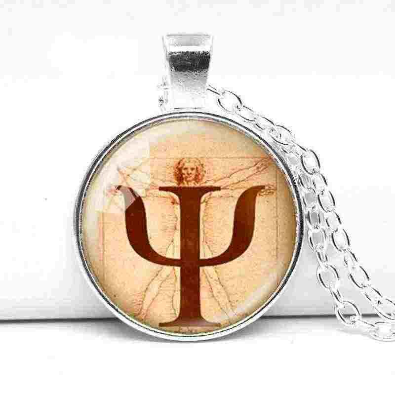 2018 классическое модное ожерелье с символом, plogy, кулон, ювелирные изделия, подарок от врача, Leonardo da Vinci, фото, анатомия