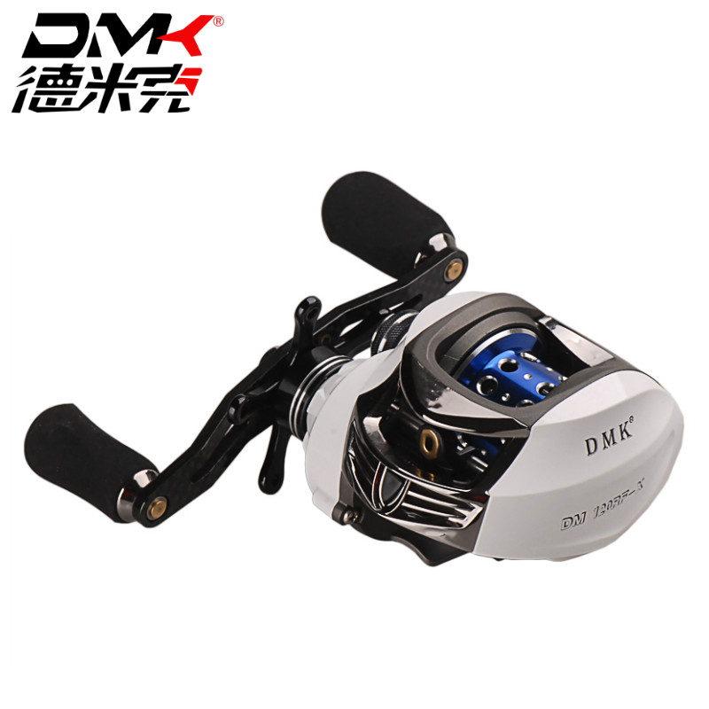 DMK Baitcasting Reel 13+1BB 7.0:1 Left Right Hand High Speed Fishing Reels Bait Casting Vissen Carretilha De Pesca Carp Coil kastking stealth 11 1bb carbon body right left hand bait casting carp fishing reel high speed baitcasting pesca 7 0 1 lure reel