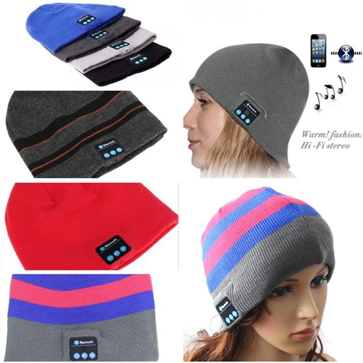 c3d55ff0ce4 headphone winter Wireless Bluetooth music hat Sport Baseball Cap Canvas  Smart Sun Hat Music Headphone Speaker Handsfree with Mic-in Bluetooth  Earphones ...