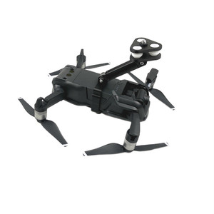 Image 3 - for DJI Mavic Air 360 Degree Rotating VR Panoramic Camera Shockproof Mounting Bracket 1/4 Screw Base Holder for Gopro Accessory