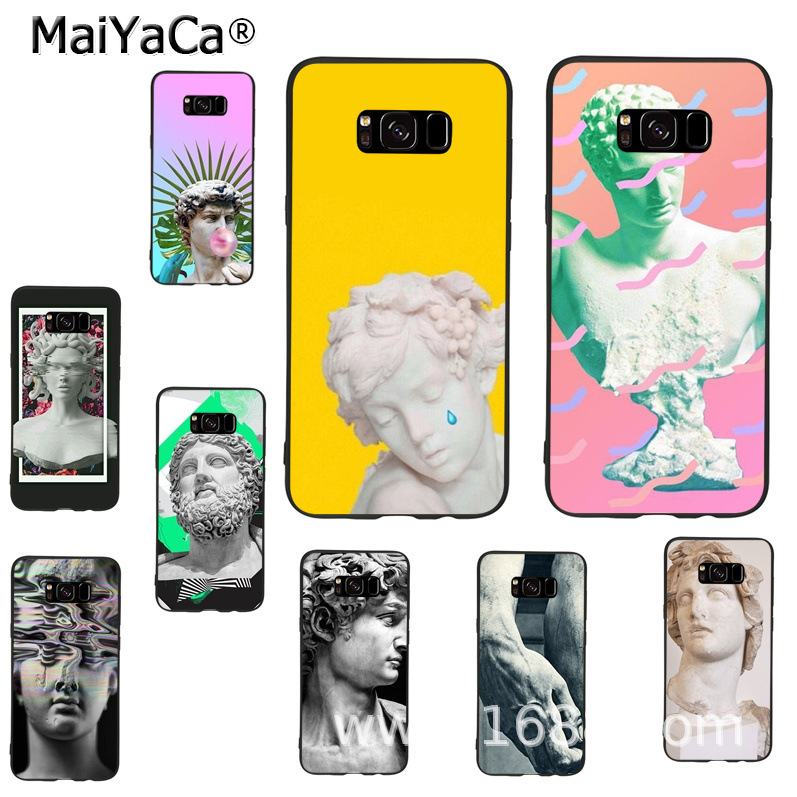 MaiYaCa Statue Michelangelo-david soft tpu phone case cover for samsung galaxy s9 plus note 4 note5 note8 s7 s6 s8 plus case