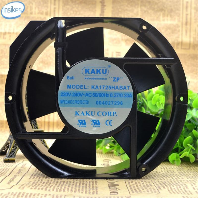 KA1725HA2BAT 2 провода Вентилятор охлаждения АС 220В-240В 0,27 а/0.23 а 17252 17см 172*150*52 мм 50/60Гц