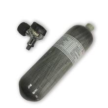 AC1217 Acecare sıkıştırılmış hava karbon fiber silindir Airsoft 2.17L 4500Psi siyah vana Airgun tüfek tabanca aksesuarları