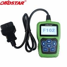 OBDSTAR F102 автоматический считыватель штрих-кода для Nissan/Infiniti автоматический ключ программирования коррекция пробега F102 контактный Код Калькулятор