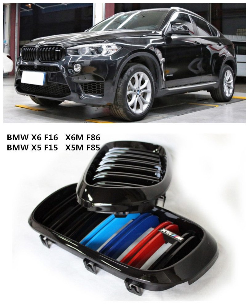 Auto Grille Racing Grills For BMW X5 F15 X5M F85 X6 F16
