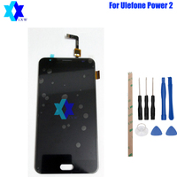 For Original Ulefone Power 2 LCD Display Touch Screen Panel Digital Replacement Parts Assembly 5 5