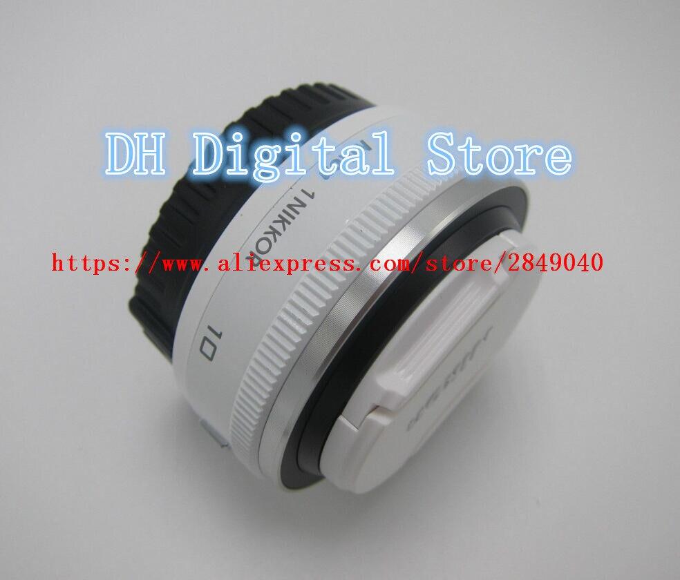 Pour Nikon 1 NIKKOR 10mm F/2.8 Lentille Unité Blanc S'appliquent à J1 J2 J3 J4 J5 V1 V2 V3