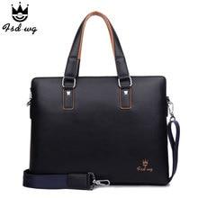 NEU! herren aktentasche handtasche berühmte marke pu-leder business messenger bags herren umhängetaschen bolsos herren umhängetasche