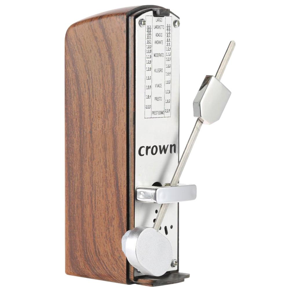 8pcs Portable Mini Mechanical Metronome Universal Metronome for Piano Guitar