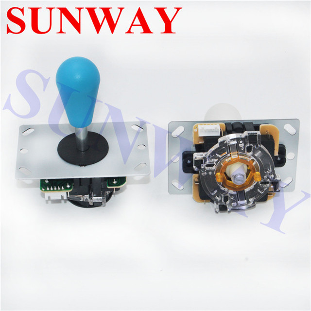 Arcade DIY LED Kit with Zero Delay USB Encoder To PC Arcade Games 8 Way Battop Joystick + 5V LED Illuminated Arcade Push Buttons