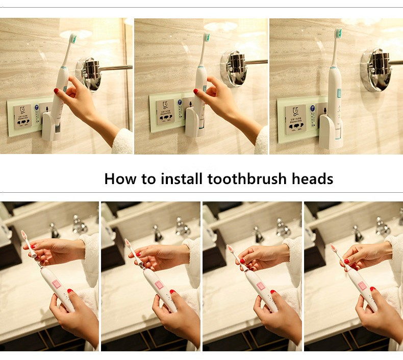 electric toothbrush rechargeable