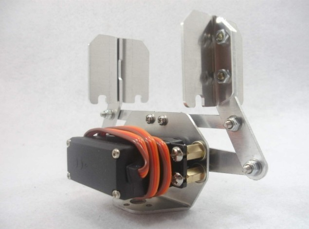 DOIT Metal Robotic Arm manipulator Gripper Robot Mechanical Claw+1pcs Servo Accessory Compatible with MG995 paw clamp robot digital servo 180 degree 20kg high torque ld 20mg metal gear steering gear for manipulator mechanical arm robotic